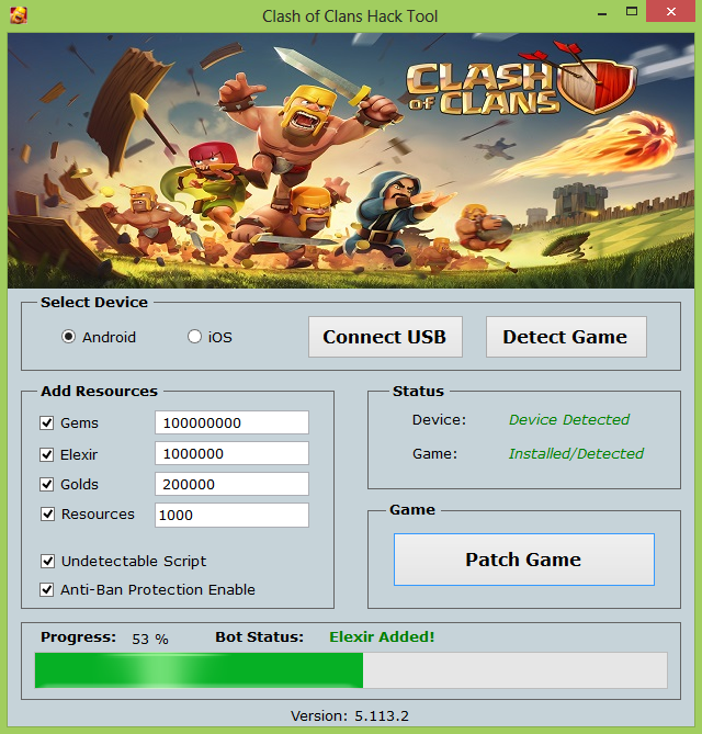 Clash Of Clans Gem Hack No Survey