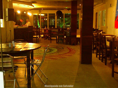 Ciranda Café: Ambiente interno
