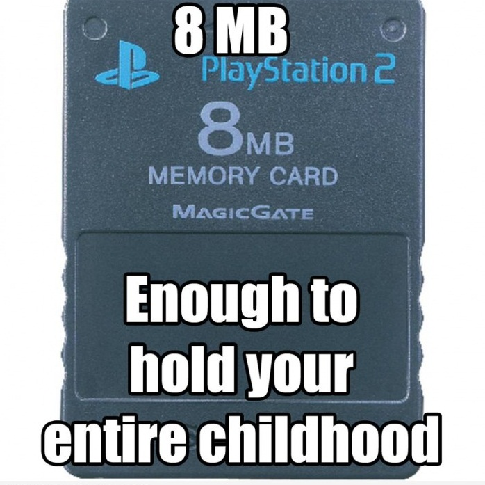Enough To Hold Your Entire Childhood