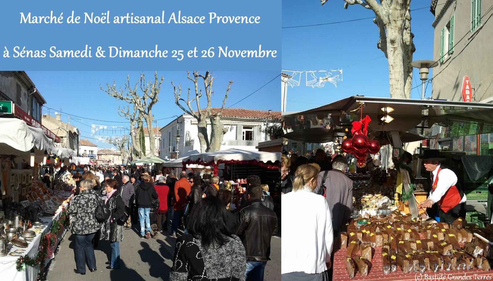 Tourisme et sorties en provence sud luberon durance et for Marche de noel salon de provence