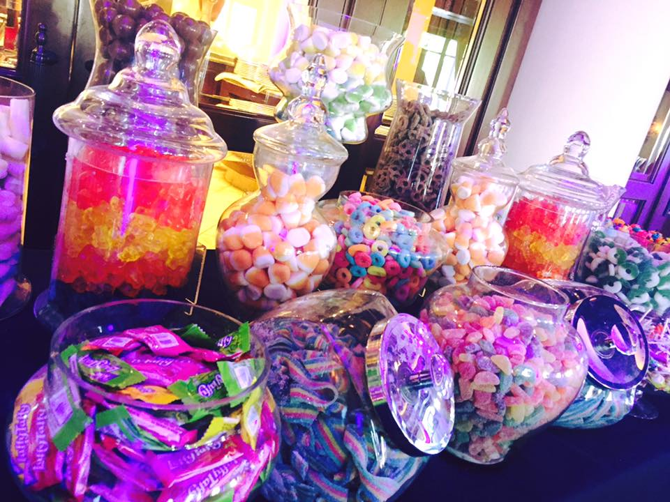 "Glow In The Dark Candy Buffet Jackie "" Hollywoo..."