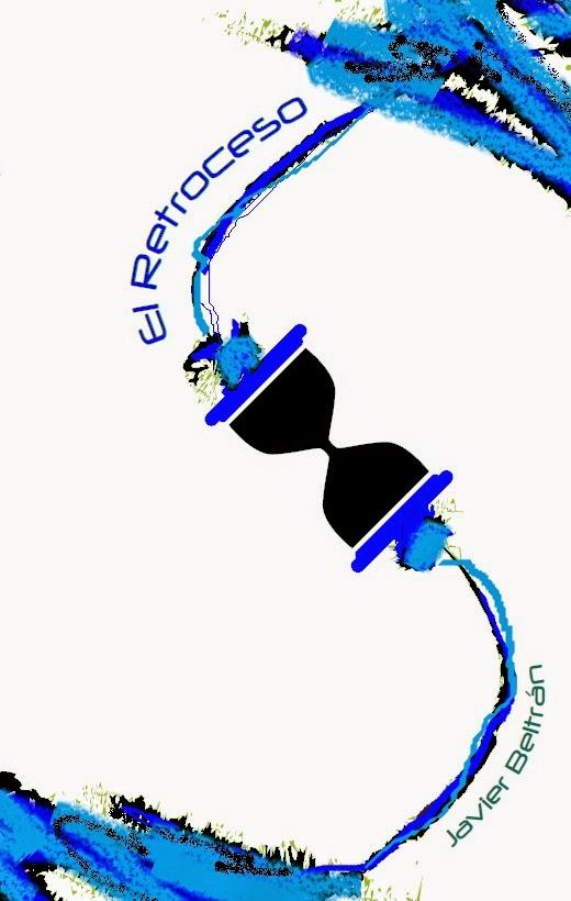 portada, cover, libro, book, retroceso, viaje en el tiempo, time travel, diego burdío, javier beltrán, time travel, best book, ciencia-fiición, sci-fi, best cover, mejor portada libro, original, minimalism, minimalista