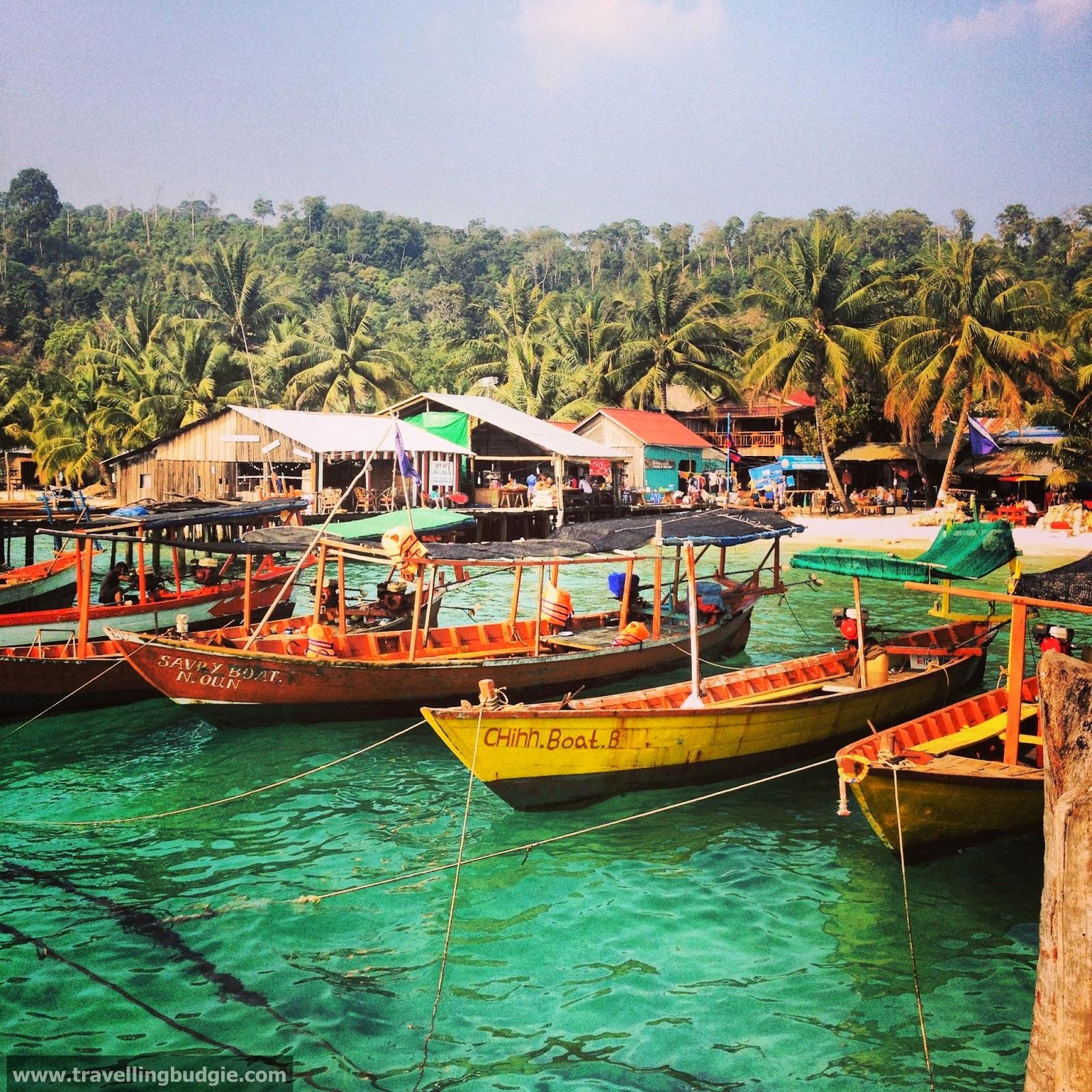 Cambodia: Travelling Budgie: Sihanoukville
