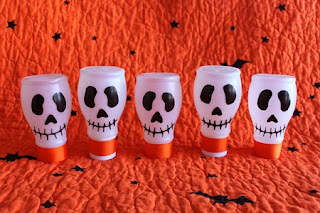 Ideas de Decoración para Halloween, Botellas de Plastico