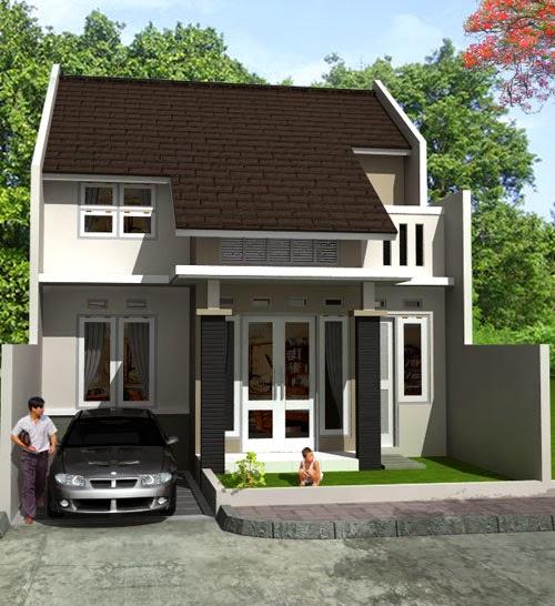 contoh warna cat rumah yang menarik desain denah rumah