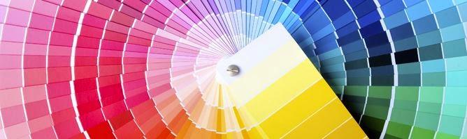 paleta color pintura