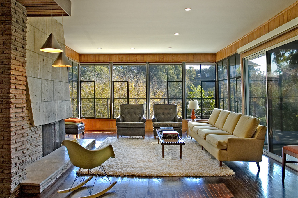 Larsen Interiors Llc Traditional Vs Mid Century Modern Fireplace When Decorating Your Living Room