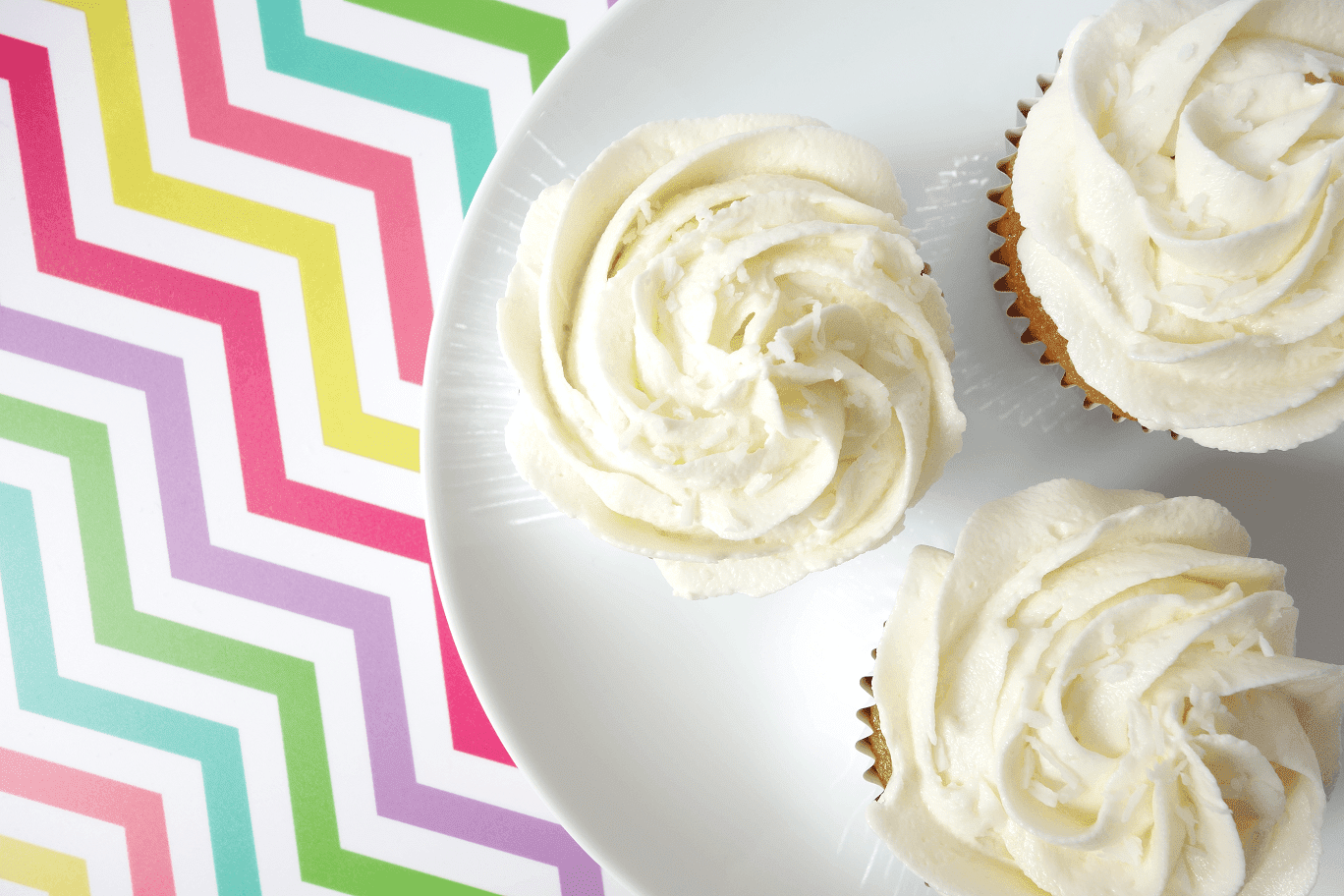FOOD: Almond Cupcakes with White Chocolate and Coconut Frosting - The ...