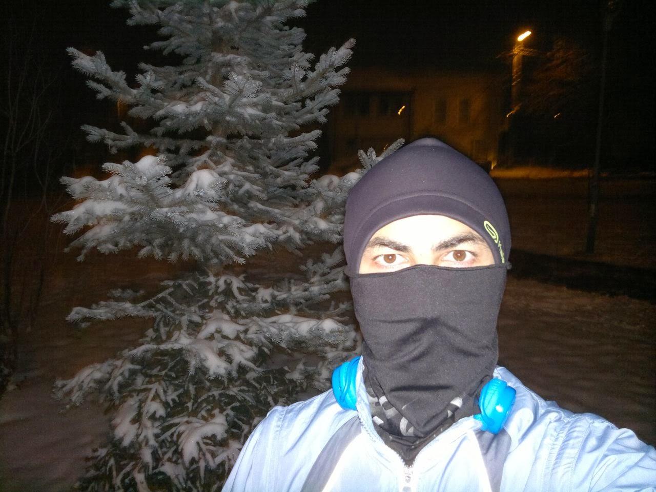 Prima alergare de iarnă (29.01.2014)