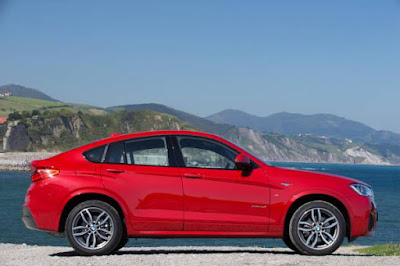 The new BMW X4 xDrive35i - M Sport package