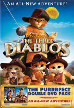 Gato de Botas: Os Três Diablos   DualAudio