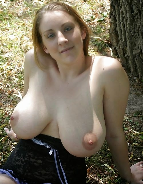 tits Woman big hanging