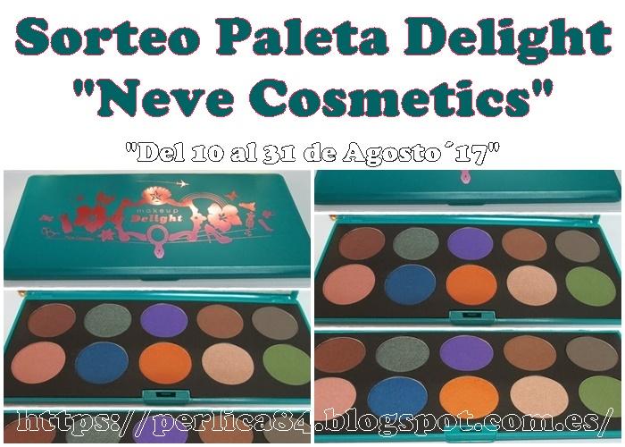 "sorteo Paleta Delight de ""Neve Cosmetics"