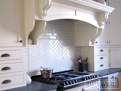 designhaven herringbone backsplash