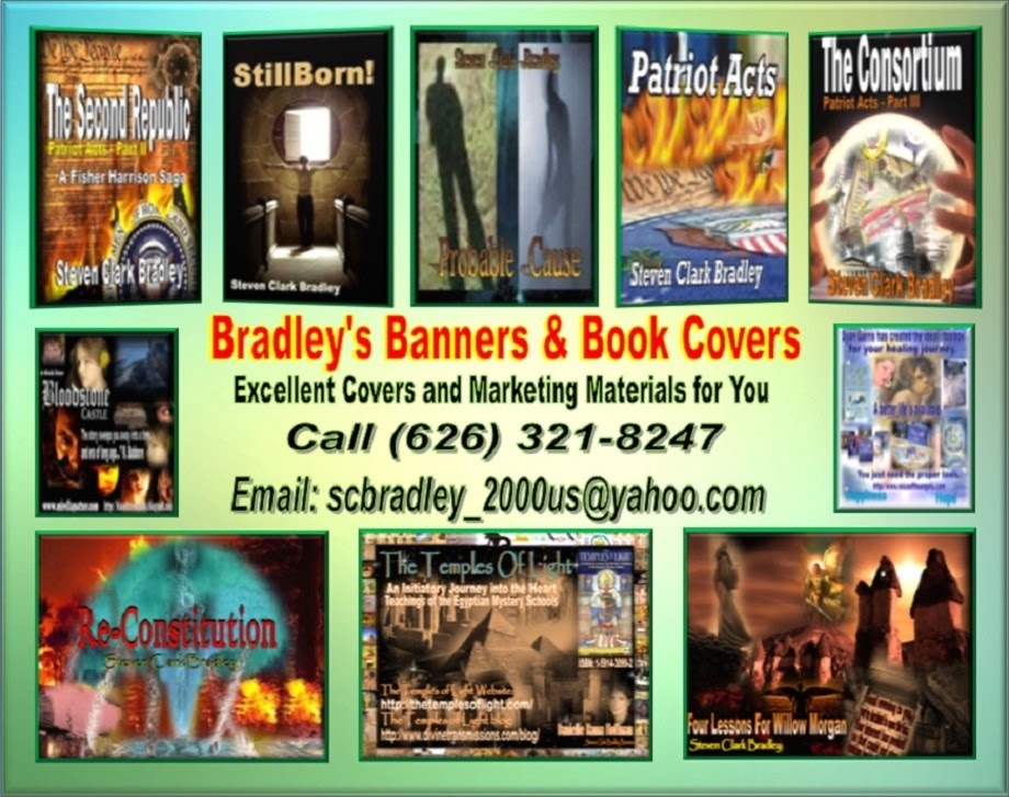Bradley's Banners and book Covers