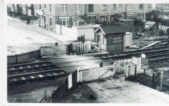 Burfields Level Crossing
