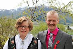 Meg og min kjære Snorre