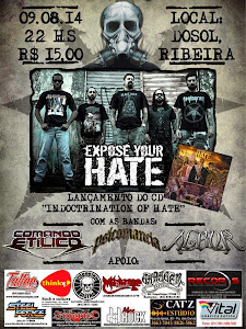 LANÇAMENTO DO CD 'INDOCTRINATION OF HATE'