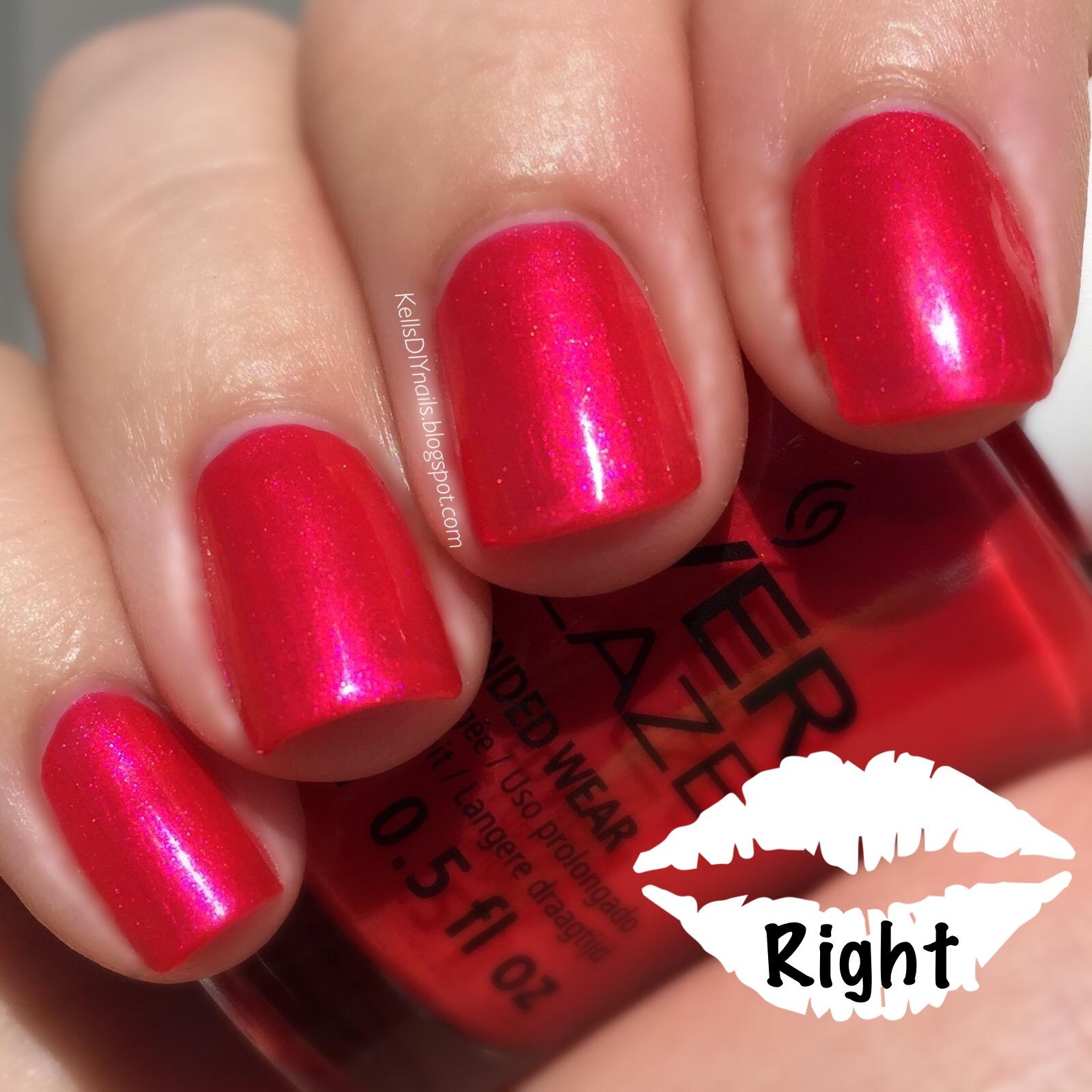 Kell\'s DIY Nails: Wear Test: China Glaze EverGlaze, I Wanna Be Your ...