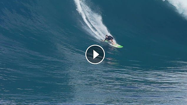 BRAD DOMKE JAWS 1 15 16 Filmed by Forrest Dein