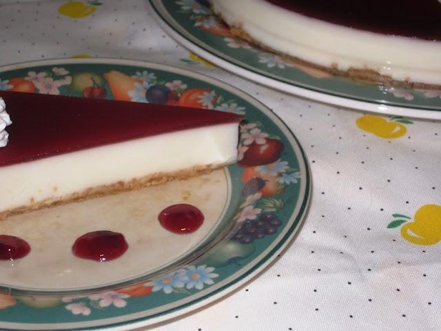 Tarta de queso crema y cuajada 01
