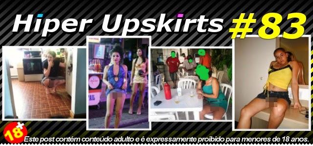Hipernovas: Hiper Upskirts #83 - Elas Adoram Ficar Sem Calcinha (108 Imagens)