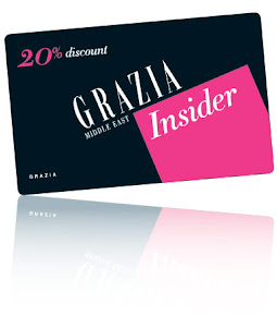 20% off with Grazia Insider