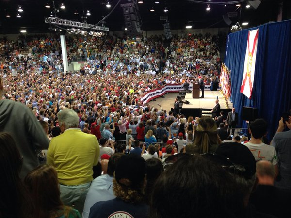 stream coverage of the Donald Trump for President rally in Raleigh, NC ...