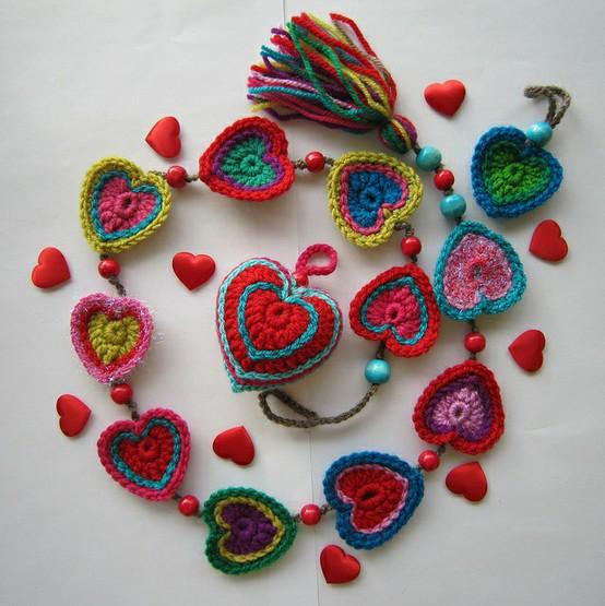 Crochet Craft Projects : Espero les sirvan y festejen...