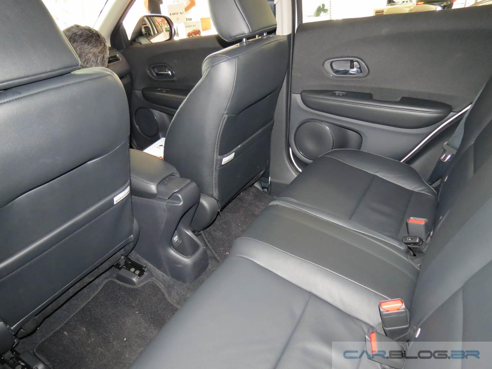 Honda HR-V EX-L topo de linha - interior