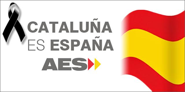 Cataluña es España (con un crespón negro)
