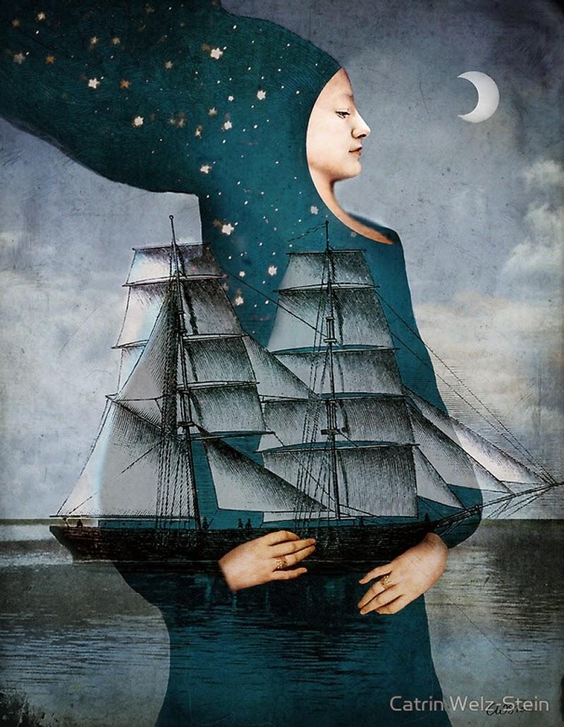 02-Blue-Moon-Catrin-Weiz-Stein-Digital-Surreal-Photography-www-designstack-co