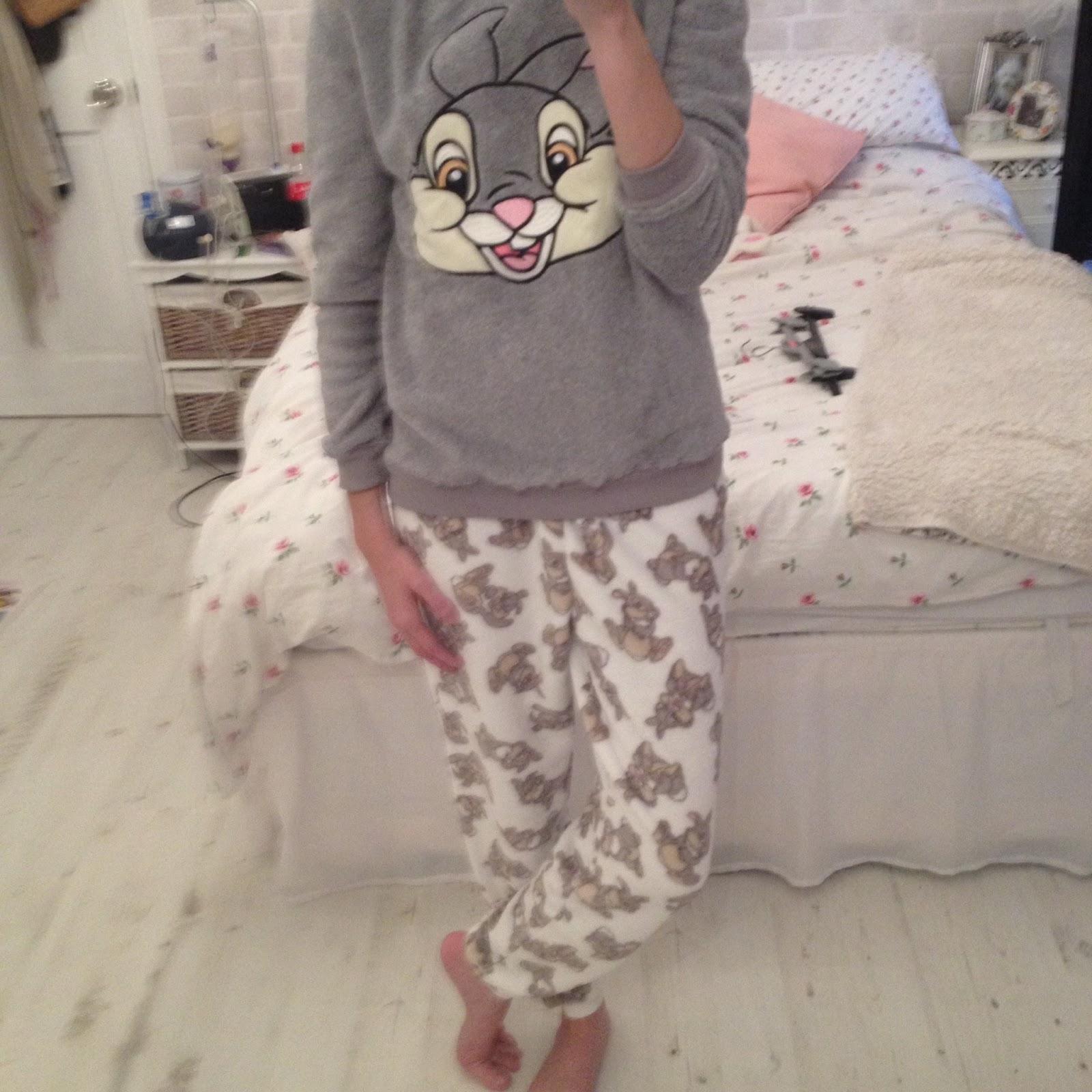 primark thumper bambi pyjamas