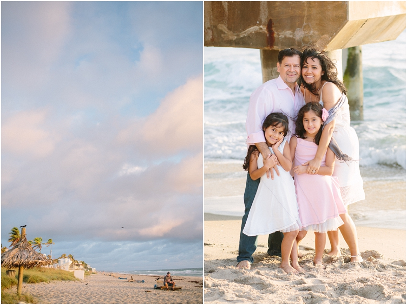 lake worth pier florida beach family photography