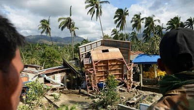 Typhoon Bopha ravaged the southern island of Mindanao on Dec 4.