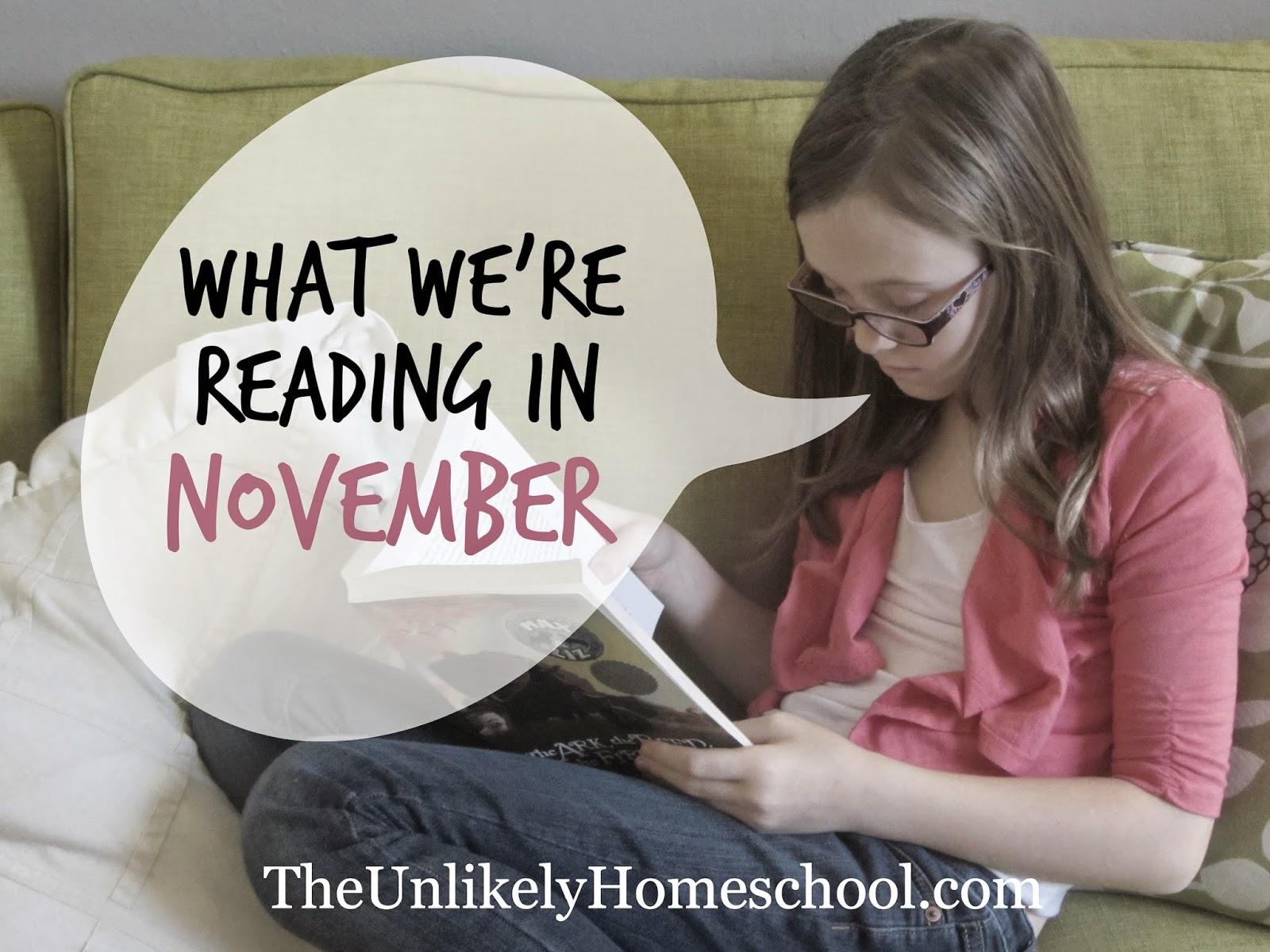 What We're Reading in November 2014 {The Unlikely Homeschool}