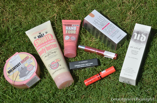 Beauty Haul: Soap & Glory, MAC, NYX, Revlon, Benefit, Urban Decay