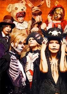 gente disfrazada en la fiesta de halloween