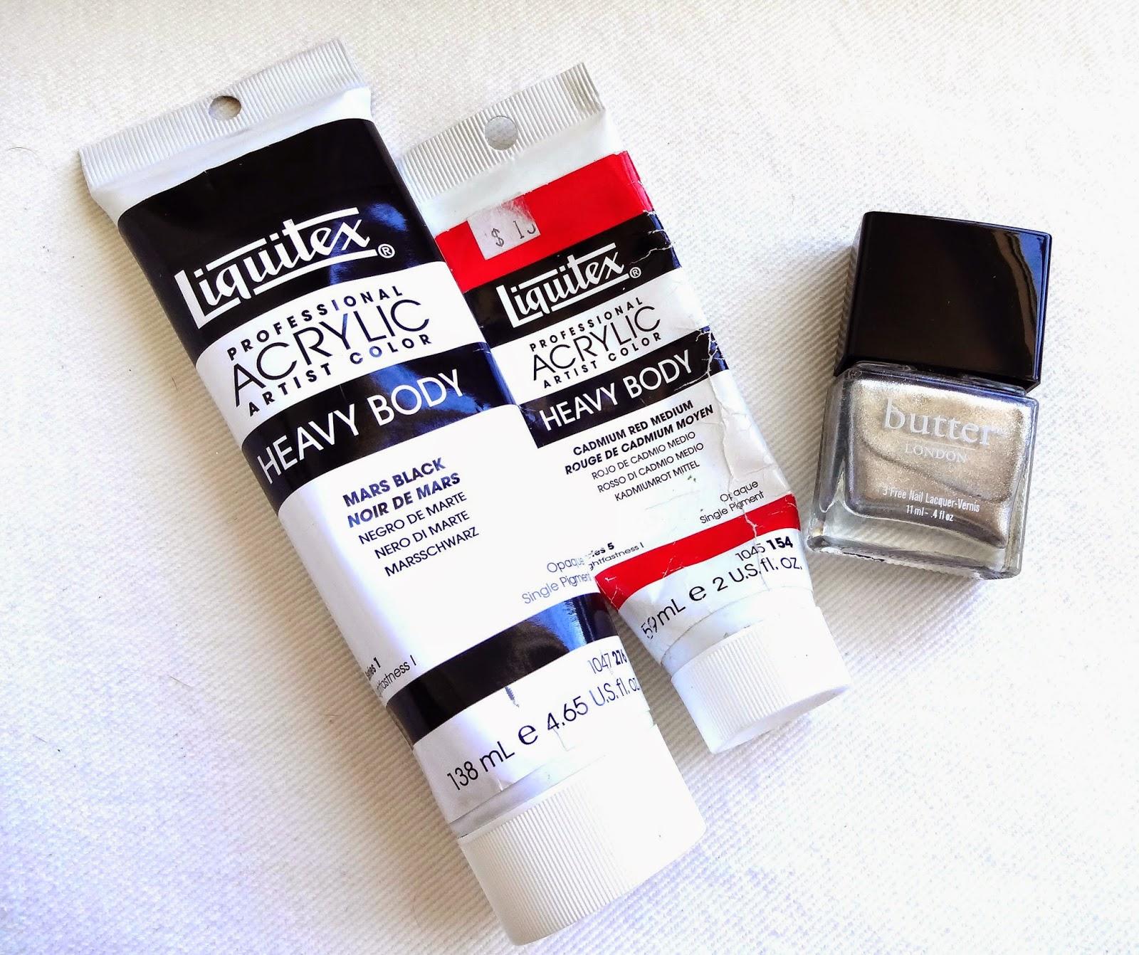 Paint and Nail Polish