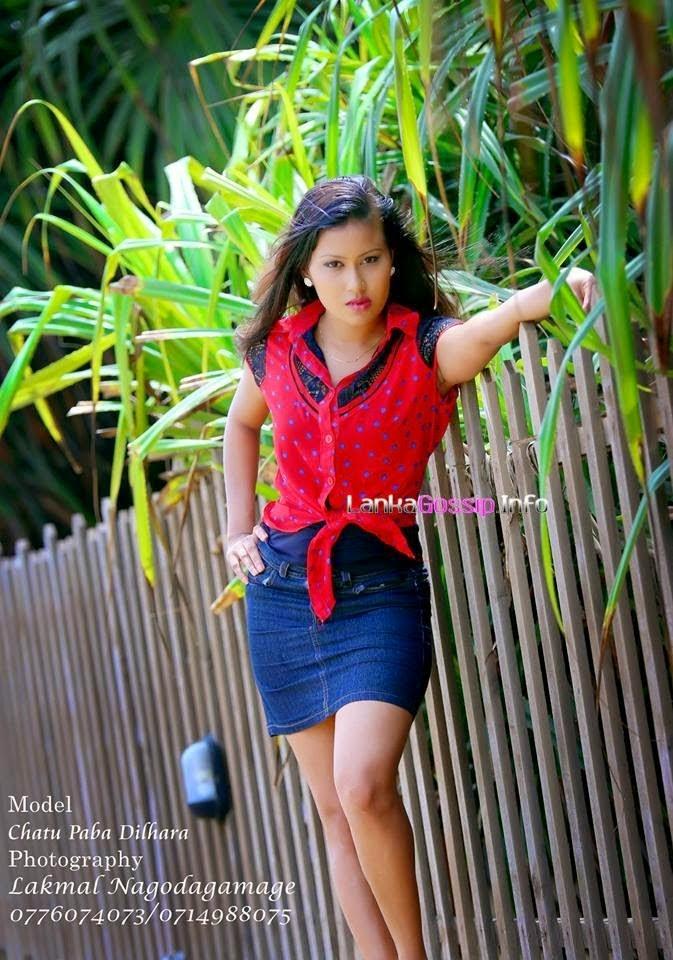 Chathu Paba Dilhara mini skirt