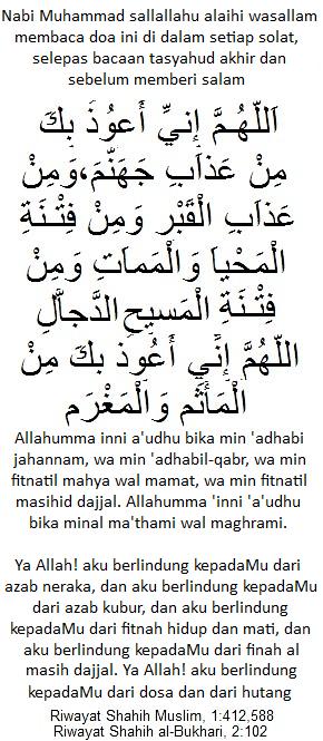 Doa Elak Fitnah
