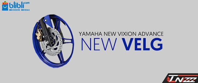 Velg new vixion advance