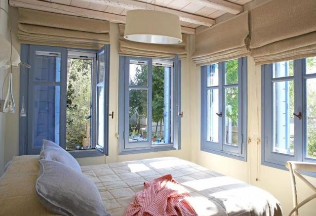 ventanas azul añil