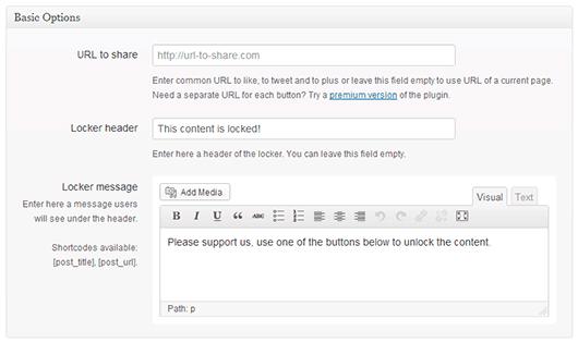 grey Social Locker: WordPress İçerik Kilitleme Eklentisi