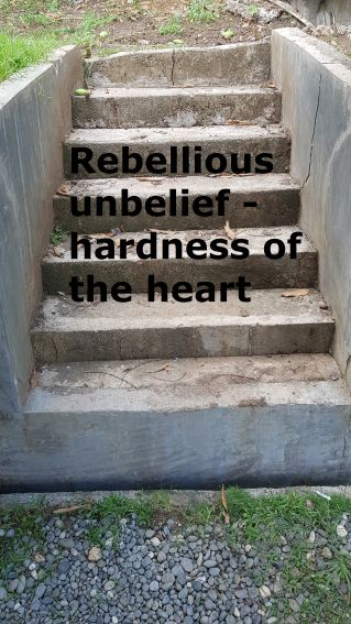 Rebellious unbelief