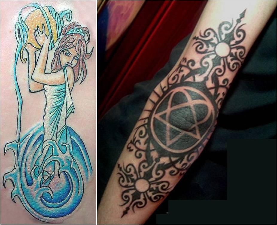 Trend Tattoo Styles Aquarius Artwork Tattoos