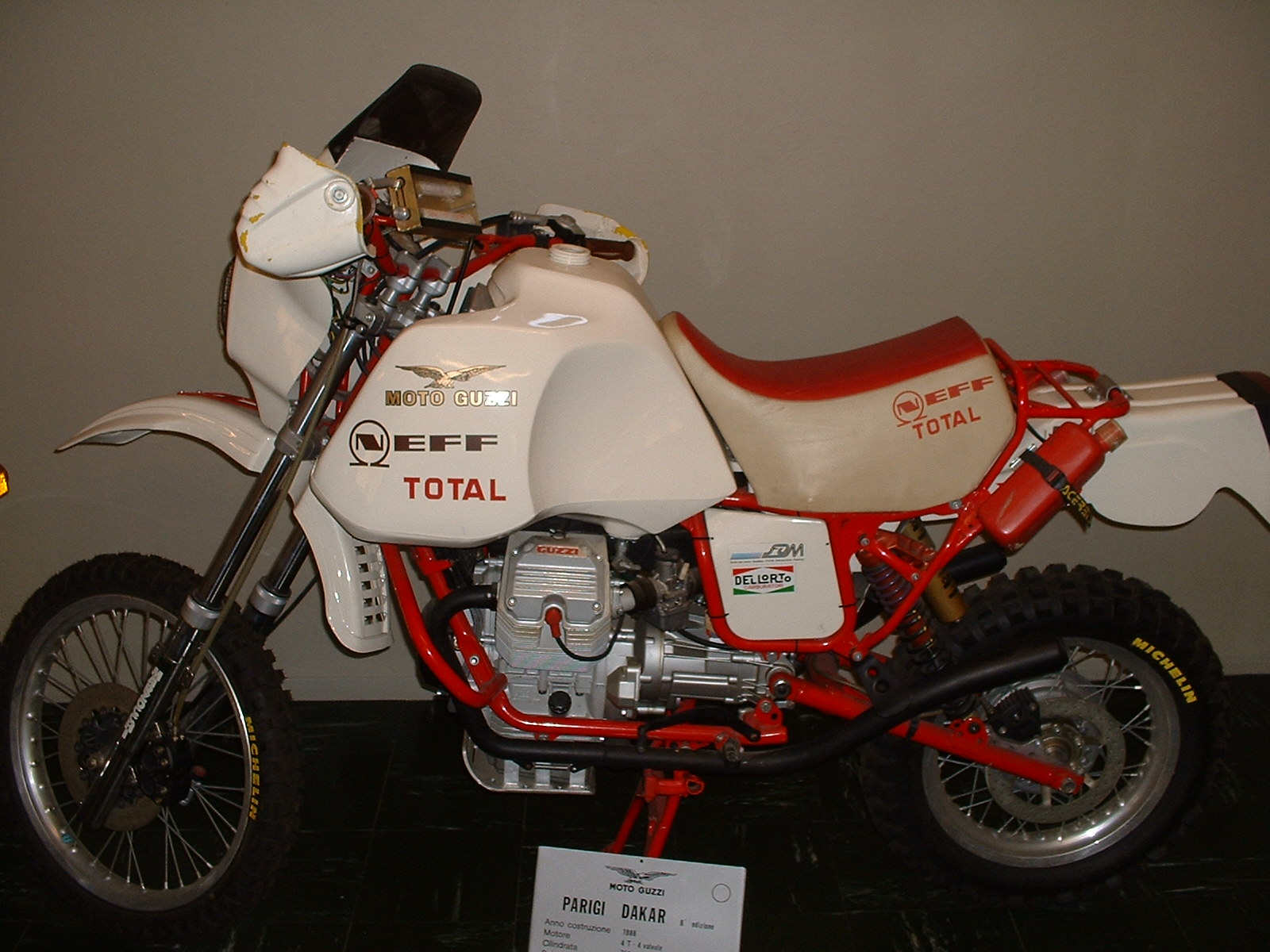Moto Guzzi Paris Dakar 750 4-Valve Racer