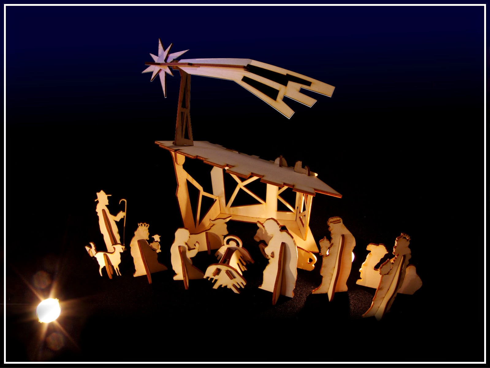 a good mix of creativity christmas nativity set 2014