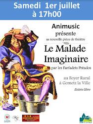 Théâtre à Gometz la ville vec les Farfadets d'Animusic.