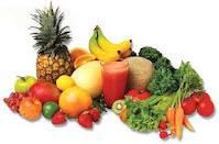 Frutas y Verduras crudas ayudan a Adelgazar